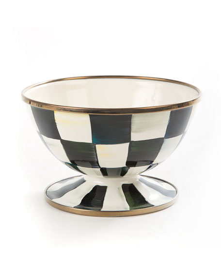 MacKenzie-Childs Courtly Check Ice Cream Bowl