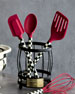 Image 2 of 2: Courtly Check Red Spoon
