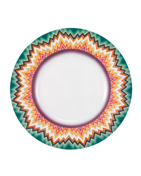 Zigzag Dinner Plate