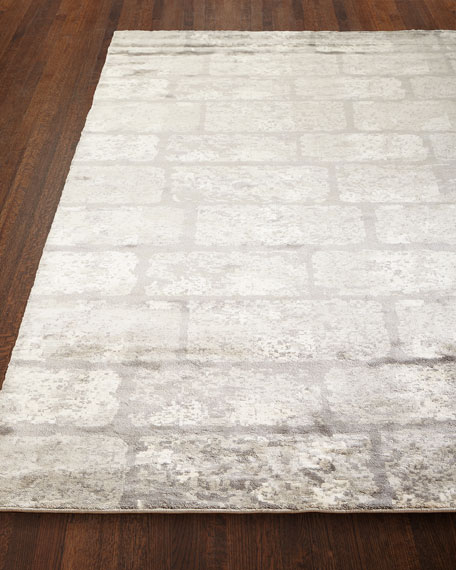 Image 1 of 3: Safavieh Silver Gem Rug, 9' x 12'