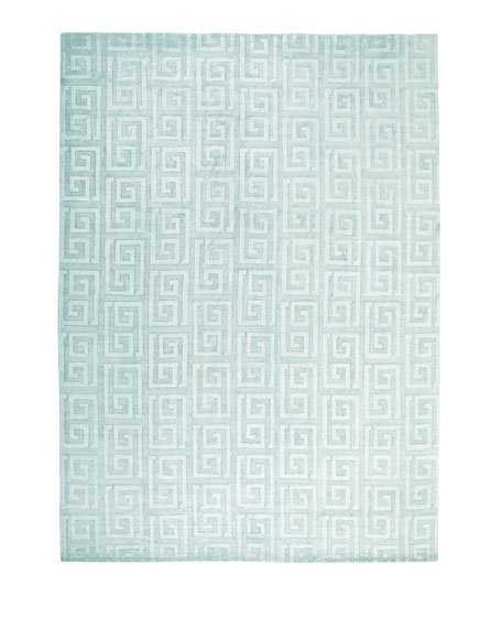 Sadie Greek-Key Rug, 9' x 12'