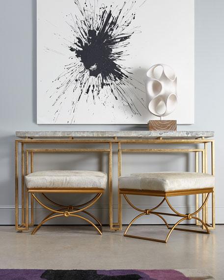 Cynthia Rowley for Hooker Furniture Brando Ottoman