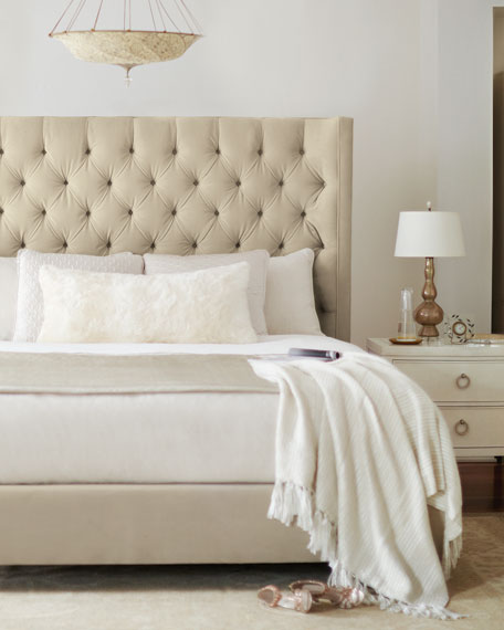 Bernhardt Audrey Tufted Queen Bed