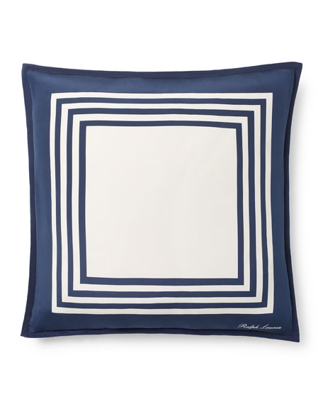 "Modern Glamour Kiera Pillow, 20""Sq."