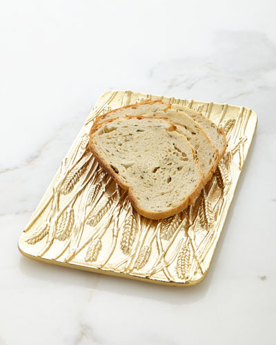Wheat Bread Plate
