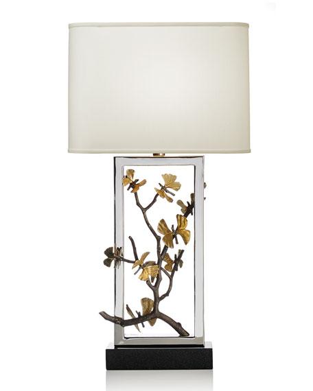 Butterfly Ginkgo Table Lamp