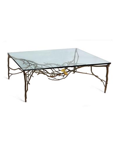 Butterfly Ginkgo Coffee Table