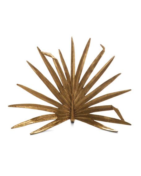 Palm Decorative Fireplace Screen
