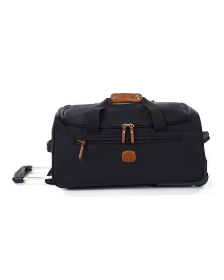 "Bric's Black X-Bag 21"" Carry-On Rolling Duffel Luggage"