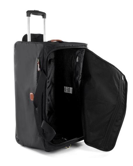 """Bric's Black X-Bag 28"""" Rolling Duffel Luggage"""