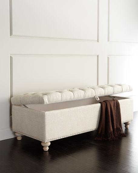 Marian Tufted Storage Bench