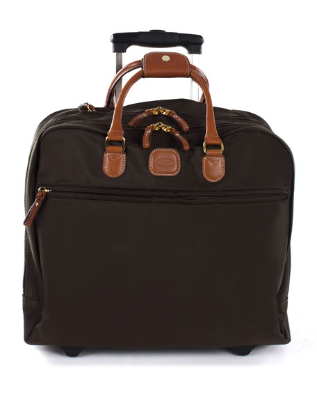 Bric's Black X-Travel Pilotcase Luggage