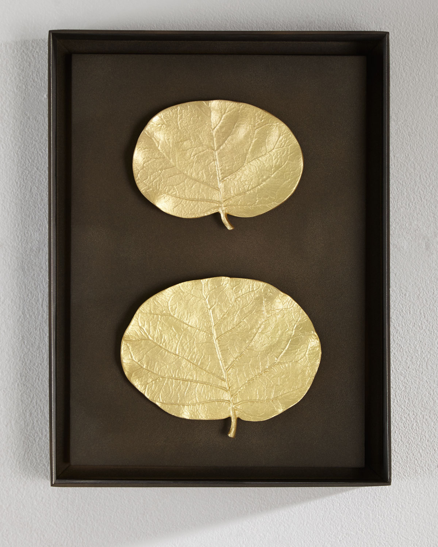 Michael Aram Botanical Leaf Wall Art   Neiman Marcus