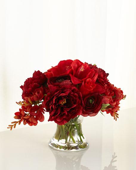 John-Richard Collection Prestigious Berry Faux-Floral Arrangement