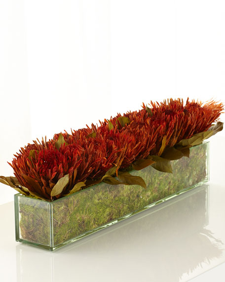John-Richard Collection Blazing Protea Faux-Floral Arrangement