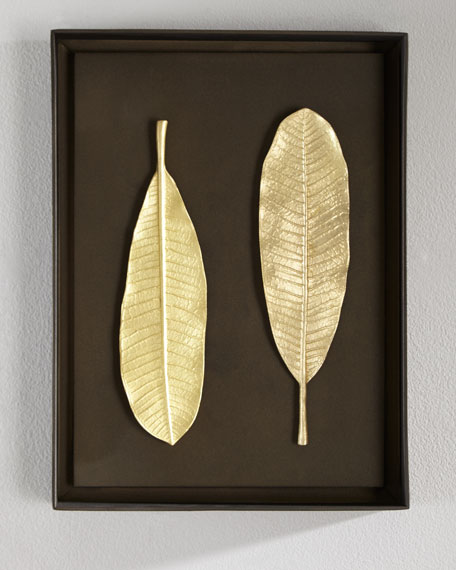Champa Leaf Wall Art