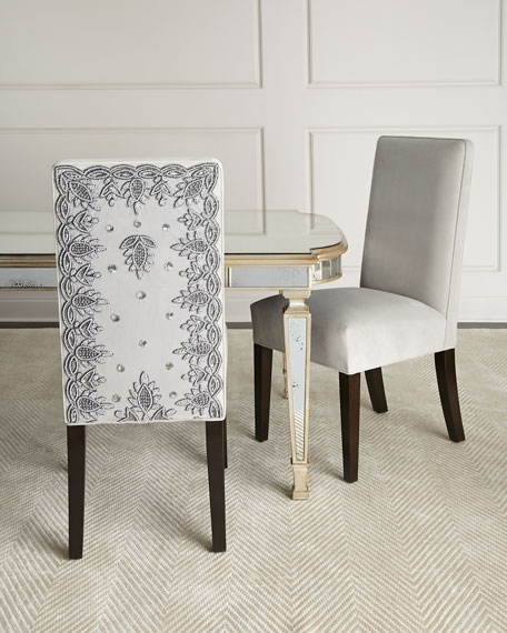 Silver Caramel Dining Chair