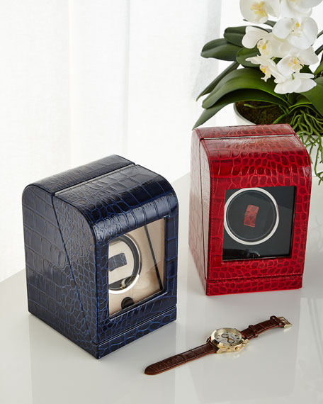 Renzo Romagnoli Single Watch Winder Box