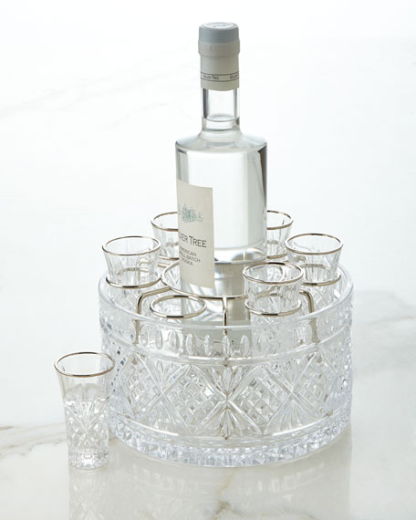 Godinger 8-Piece Dublin Vodka Set