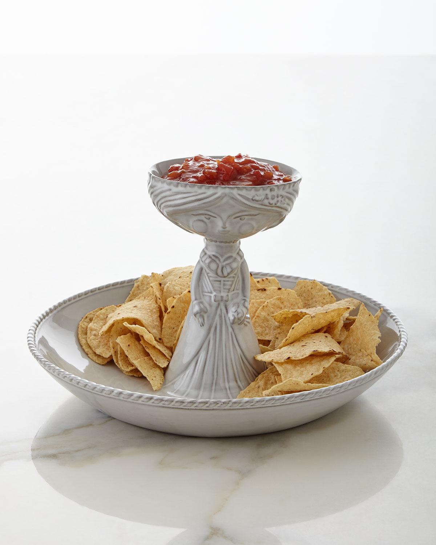 Carmen Chip And Salsa Bowl