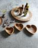 G G Collection Gratitude Bowls, 3-Piece Set