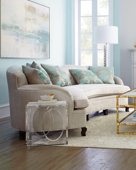 """Haute House L'Amour Tufted Sofa 118"""""""