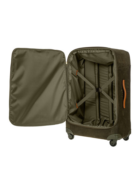 """Bric's Life Olive 32"""" Spinner Luggage"""