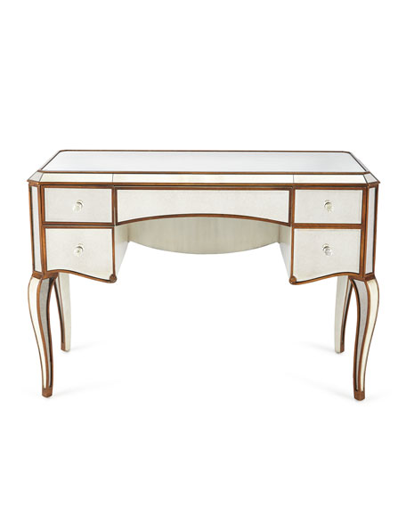Claudia Mirrored Desk