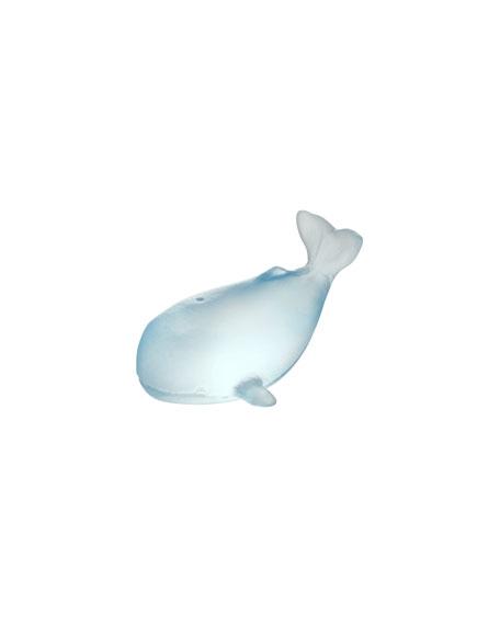 Daum Small Whale Sculpture