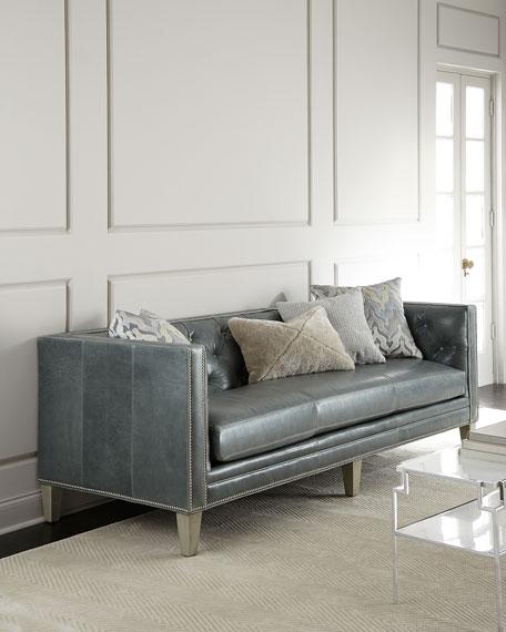 McQueen Leather Sofa