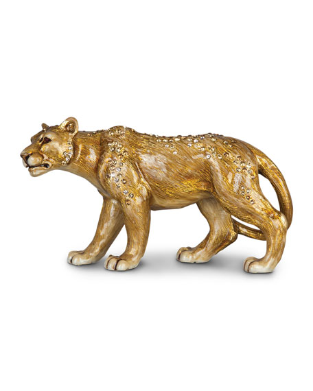 Jay Strongwater Lioness Figurine
