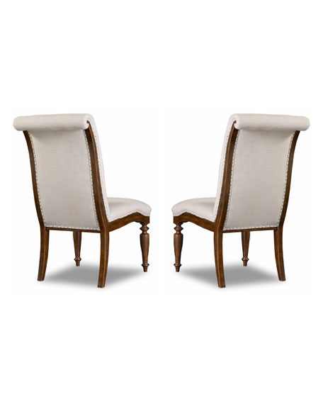 Hooker Furniture Cecile Dining Side Chair, Pair