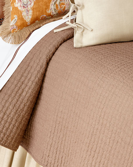 Amity Home King Catalina Linen Quilt