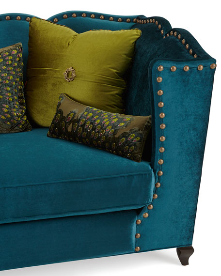 Santiago Peacock Sofa