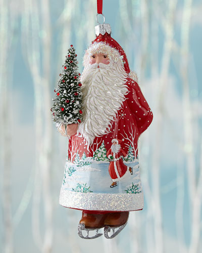 Santa for Colin Christmas Ornament