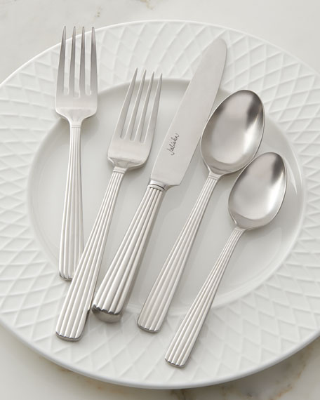 Juliska L'Andana Bright Satin 5pc Place Setting