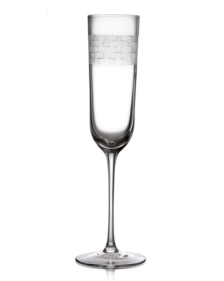 Palm Champagne Flute