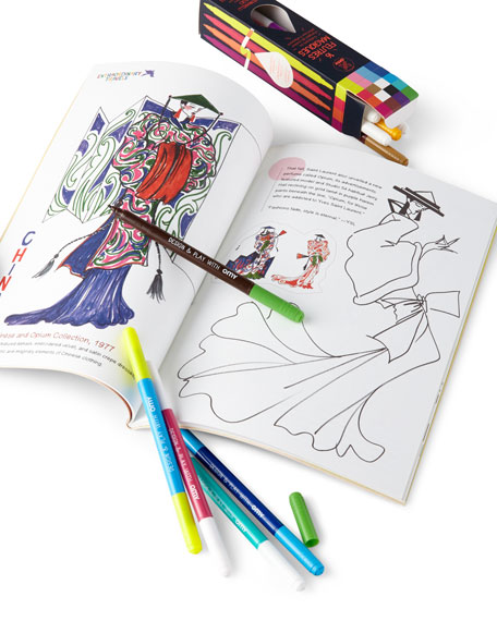YSL Personalized Coloring Book