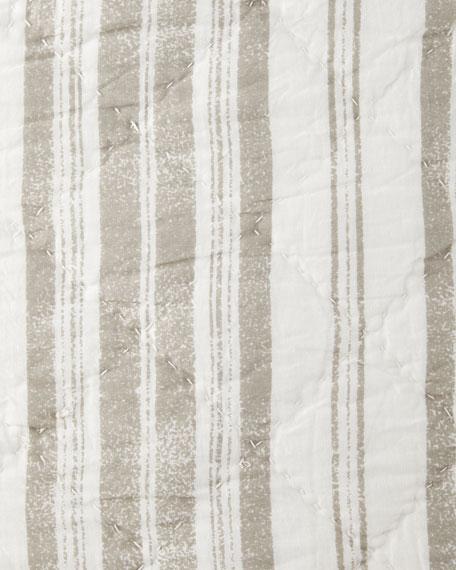 European Liana Striped Sham