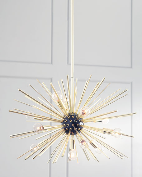 Starburst 12-Light Pendant