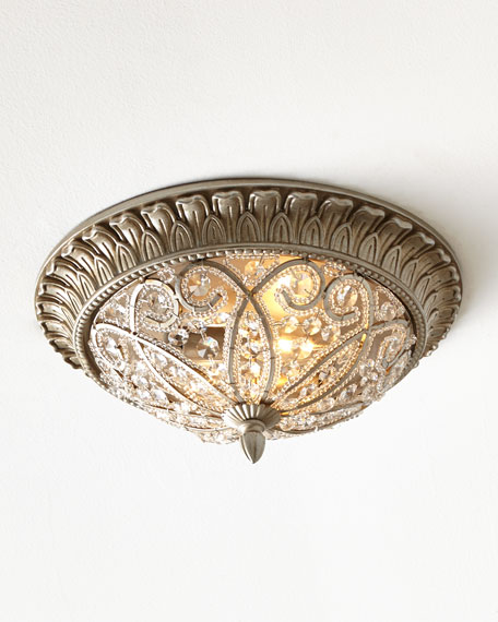 Andalusia 2-Light Flush-Mount Ceiling Fixture