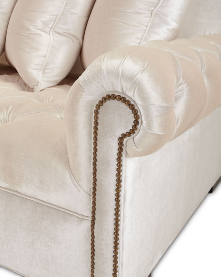 Divine Tufted Left Chaise Sectional
