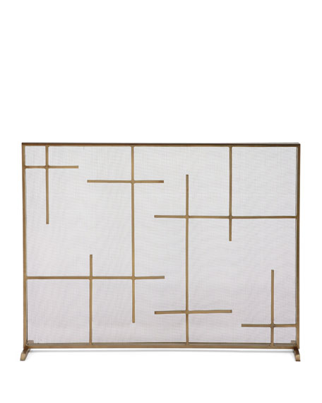 Arteriors Caleb Fireplace Screen