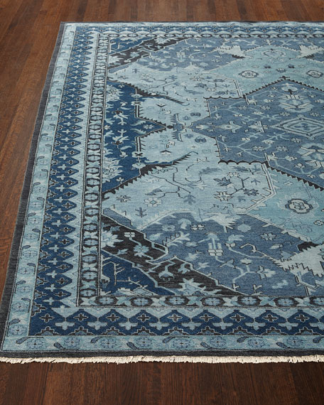 Ralph Lauren Home Reynolds Blue Rug, 6' x