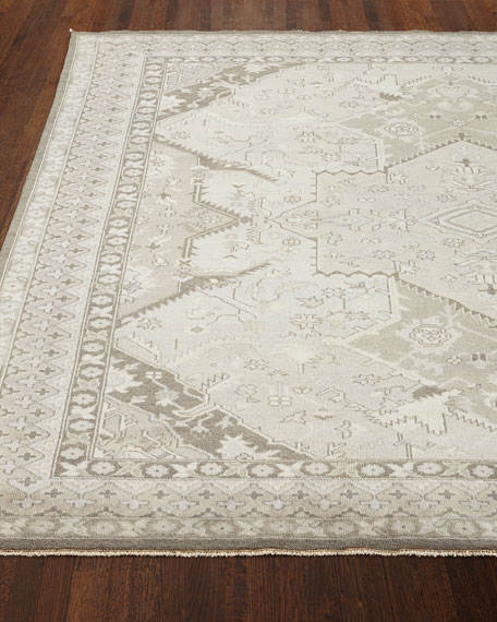 Image 1 of 2: Ralph Lauren Home Reynolds Dove Gray Rug, 8' x 10'