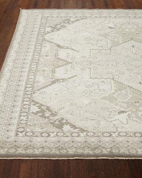 Ralph Lauren Home Reynolds Dove Gray Rug, 6' x 9'