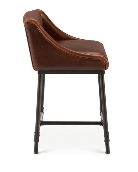 Fairfield Leather Barstool