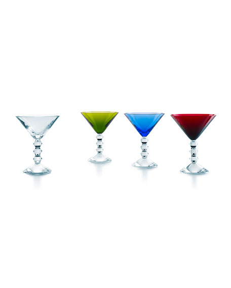 Baccarat Vega Martini Glasses, 4-Piece Set