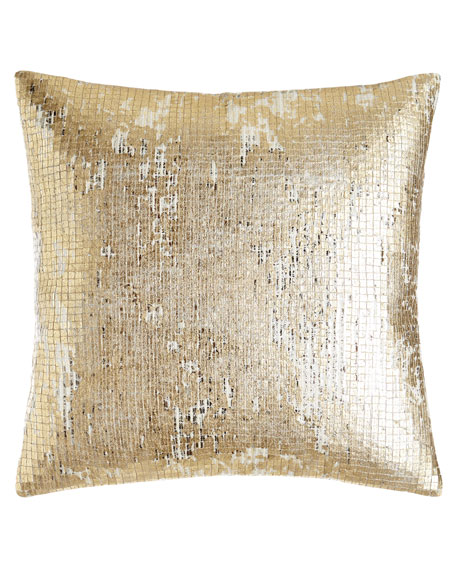 "Donna Karan Home Rhythm Sequin Pillow, 16""Sq."