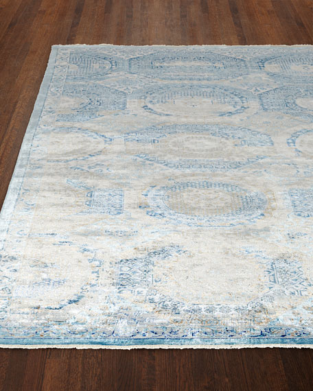 Exquisite Rugs Venetian Blue Fine Rug